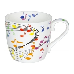 Mug colorés Notes volantes