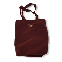 Tote Bag Velours