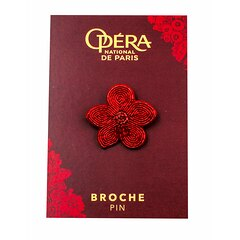 Broche Matte Metallic Flower 2