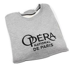Sweat Col Rond Gris Homme