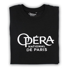 Black t-shirt noir Opera national de Paris