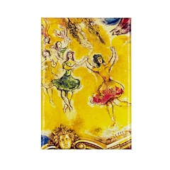 Magnet Chagall Giselle